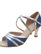 Women's Leatherette Patent Leather Heels Sandals Latin Dance Shoes (053012983)