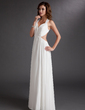 A-Line/Princess Sweetheart Floor-Length Chiffon Evening Dress With Ruffle (017016725)
