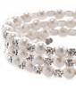 Strand Pearl With Rhinestone Ladies' Bracelets (011033404)