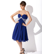 Empire Sweetheart Knee-Length Chiffon Homecoming Dress With Ruffle Beading Sequins (022020852)