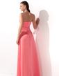 Çan/Prenses Askısız Uzun Etekli Satin Nedime Elbisesi Ile Büzgü Boncuklama (007001049)