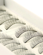 Manual Looking Curved Lashes 0# - 10 Pairs Per Box (046026686)