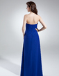 Empire Sweetheart Floor-Length Chiffon Bridesmaid Dress With Cascading Ruffles (007006366)