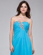 A-Line/Princess Sweetheart Floor-Length Chiffon Evening Dress With Ruffle Beading (022027060)
