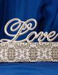 Love Design Resin Wedding Cake Topper (119030543)