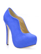 Suede Stiletto Heel Platform Closed Toe Ankle Boots shoes (088017128)