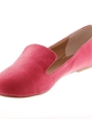 Suede Flat Heel Flats Closed Toe shoes (086039114)