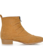 Süet Düz Topuk Ayak bileği Boots Ile Toka ayakkabı (088056318)