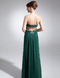 A-Line/Princess Sweetheart Floor-Length Chiffon Mother of the Bride Dress With Beading (008015878)