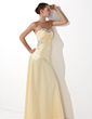 A-Line/Princess Sweetheart Floor-Length Charmeuse Prom Dress With Ruffle Beading Sequins (018004827)
