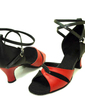 Women's Leatherette Heels Sandals Latin Dance Shoes (053009734)