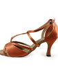 Women's Satin Heels Sandals Latin Dance Shoes (053019981)