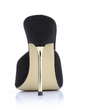 Suede Stiletto Heel Sandals Slippers shoes (087022647)