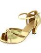Kadın Rugan Topuk Sandalet Latin Ile Ayakkabı Askısı Dans Ayakkabıları (053013547)