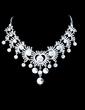 Gorgeous Alloy/Rhinestones Ladies' Jewelry Sets (011028359)