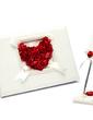 Rose Love Petals Guestbook & Pen Set (101018157)