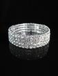 Luxurious Alloy With Rhinestone Ladies' Bracelets (011028964)
