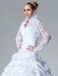 Uzun Kol Dantel Düğün Ceketler/Şallar (013003914)