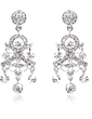 Gorgeous Alloy/Rhinestones Ladies' Earrings (011018485)