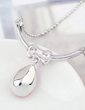 Charming Alloy/Platinum Plated With Crystal Ladies' Necklaces (011054894)