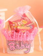 Sweet Love Basket Favor Bags With Ribbons (Set of 12) (050054569)