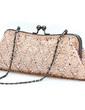 Elegant Satin mit Perlen verziert/Pailletten Handtaschen (012031259)
