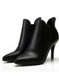 Suni deri İnce Topuk Pompalar Ayak bileği Boots ayakkabı (088057346)