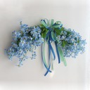 Decorative Artificial Flowers Mirror Flowers Door Lintel Flower Vine Party Supplies Home Wedding Decoration