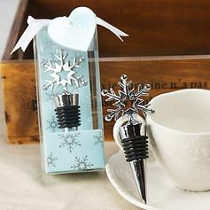 Kreativ Snöflinga Form Flaskproppar