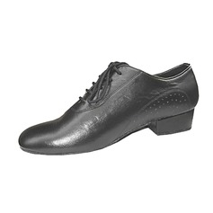 Real Leather Flats Ballroom Practice Dance Shoes
