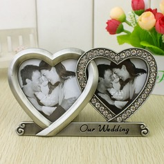 Personalized Double Hearts