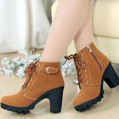 Femmes Similicuir Talon bottier Escarpins avec Zip chaussures