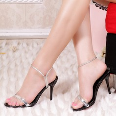 Femmes Cuir verni Talon stiletto Sandales Escarpins Escarpins chaussures