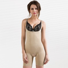 Spandex/Chinlon Non-Detachable Straps Shapewear