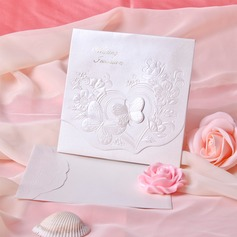 Butterly Style Tri-Fold Invitation Cards