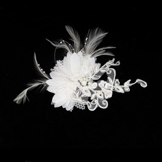 Gorgeous Lace Satin Fascinators