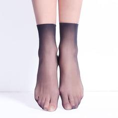 Micro Fishnet Core Spun Silk Liner Socks (Sett med 6)