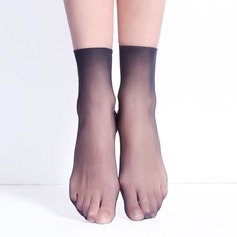 Micro Fishnet Core Spun Silk Liner Socks (Set of 6)