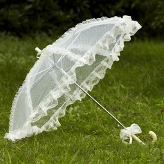 Bright Lace Wedding Umbrellas