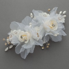 Beautiful Artificial Silk Flowers & Feathers