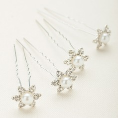 Gorgeous Alloy/Austrian Crystal Hairpins