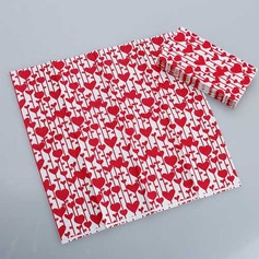 Heart Design Dinner Napkins (Set of 50 )