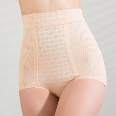 Chinlon with Lace High Waist Shaping Panties