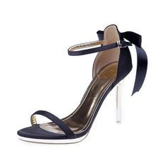 Donna Raso Tacco a spillo Sandalo con Bowknot scarpe
