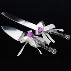 Thème floral Services de table avec Rubans