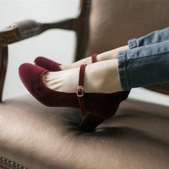 Femmes Vrai cuir Talon bottier Escarpins chaussures