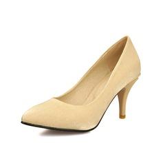 Kadın Satin İnce Topuk Pompalar Kapalı Toe ayakkabı