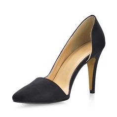 raso di seta come Tacco a spillo Stiletto Punta chiusa scarpe