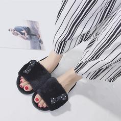 Kvinner Semsket Flat Hæl Flate sko sko