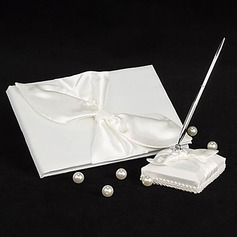 Bow Guestbook/Pen Set